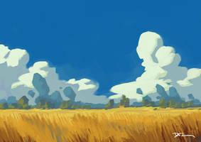 Plains Study by tohdraws