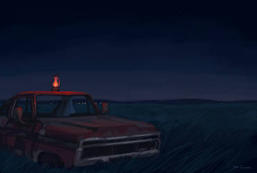Haunted Night by tohdraws