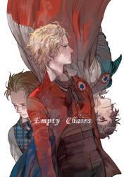 Les Miserables - Empty chairs by prema-ja