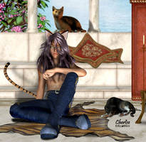 Kitty Boy revisited by Cherise75
