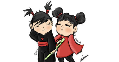 Pucca and Garu by leeleecalgirl