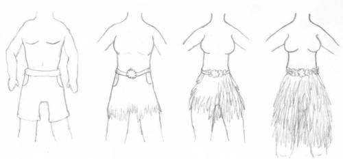 Grass Skirt TG by KSchnee