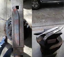 Knife Forging by KSchnee