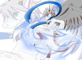 Radiant dragon by DragonJuno