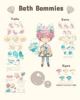 Bath Bommies [Trait Sheet] by kiniBee