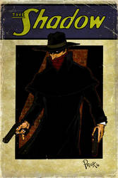 The Shadow 'Vintage' Cover by JohnPrisk