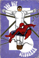 Spidey and the Doc - Vintage by JohnPrisk