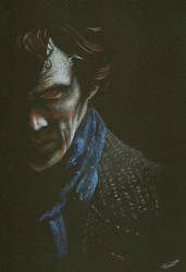 Sherlock Holmes in Blind Banker by Annocent