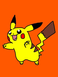 Pikachu by WonderCat108