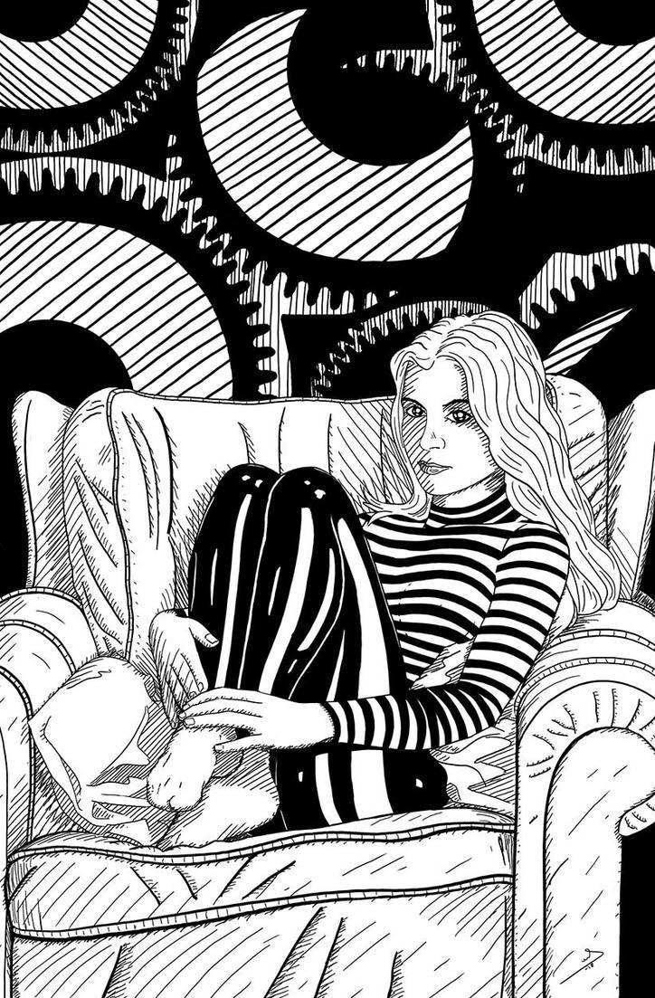 Waiting again. by VICTORSAENZBARRON