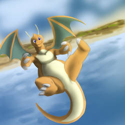My favorite dragon type: Dragonite by CountDraggula