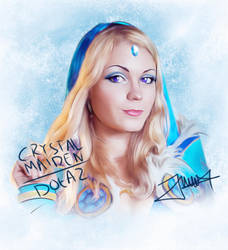 Cystal Maiden Dota 2 by Andhii