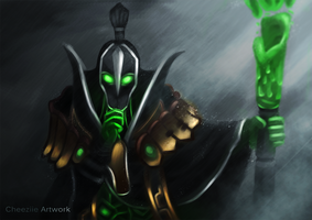 Rubick Dota 2 Painting Wallpaper by Andhii