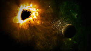 Black Hole and Destruction by nomadOnWeb