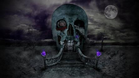 Skull House by nomadOnWeb