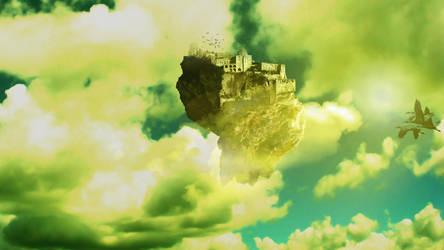 Floating Island #3 by nomadOnWeb