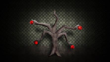 Human Apple Tree by nomadOnWeb