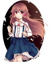 Pocket mirror by River-Moei