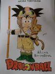 Dragonball Comic Serie Amarilla- Portada-Son Goku by TriiGuN