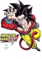 Dragonball GT Goku SS4 by TriiGuN