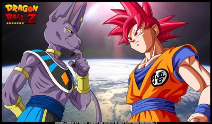 DRAGONBALL Z BATTLE OF GODS -Goku Vs Bills by TriiGuN