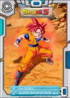 DBZ BATTLE OF GODS - Goku SSJ Dios by TriiGuN