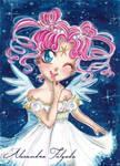 ACEO #07 - Sailor Moon, Chibi Chibi by AlexaFV