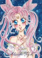 ACEO #09 - Sailor Moon, Princess Kousagi by AlexaFV