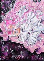 ACEO #28 - Madokami by AlexaFV