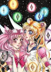 Sailor Moon - Star seeds by AlexaFV