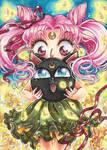 ACEO #34 Chibiusa and Luna P by AlexaFV