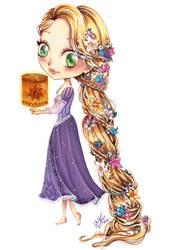 Chibi Rapunzel by AlexaFV