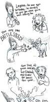 Battle Steed by Deisi