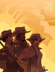 Musketeers by Deisi