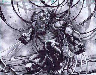 Weapon X Wolverine by emilcabaltierra