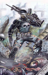 The Punisher by emilcabaltierra