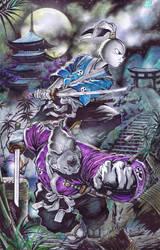 Usagi x Gennosuke by emilcabaltierra