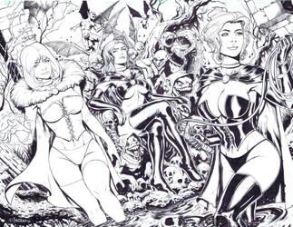 The Queens by emilcabaltierra