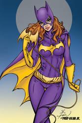 Batgirl by Luzproco