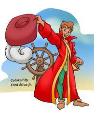 Peter Pan In Hooks Coat by Luzproco