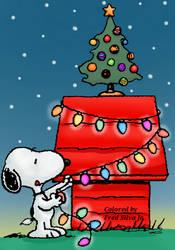 Christmas Snoopy by Luzproco
