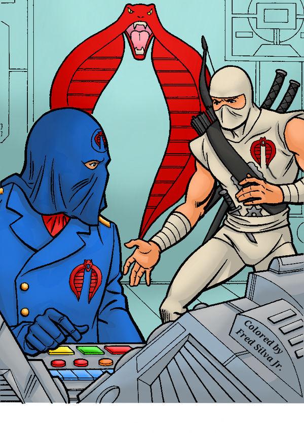 Cobra Commander and Storm Shadow by Luzproco
