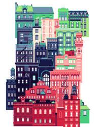 Pink City by kchilt