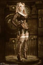 Steam Girl by MandragorPhotography