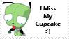 Gir Cupcake Stamp by KenxKao