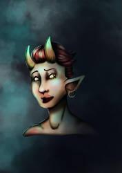 Portrait by alixuol