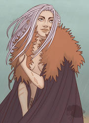 Cold Witch Lusiah by RedFleece