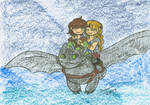 Another romantic flight by XxGreenNinjaChickxX