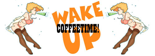 Coffeetime Mug by JohnRose-Illustrator