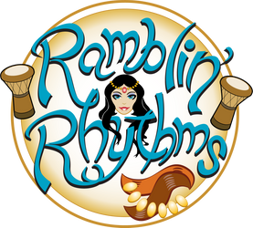 Ramblin' Rhythms Bellydance Logo by JohnRose-Illustrator
